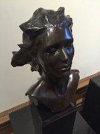 Head of Female, Celebration Bronze Sculpture 2014 16 in Sculpture by Frederick Hart - 1