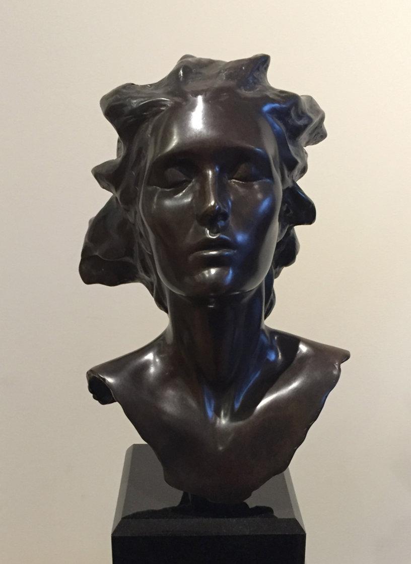 Head of Female, Celebration Bronze Sculpture 2014 16 in Sculpture by Frederick Hart