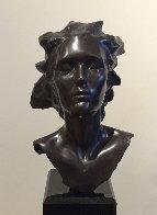 Head of Female, Celebration Bronze Sculpture 2014 16 in Sculpture by Frederick Hart - 0