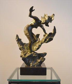 Nymph Bronze Sculpture 2007 Sculpture by Frederick Hart