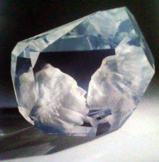 Kiss Acrylic Sculpture 2001 Sculpture by Frederick Hart
