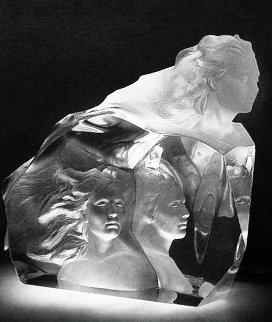 Destiny Acrylic Sculpture 1999 Sculpture - Frederick Hart
