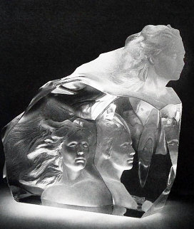 Destiny Acrylic Sculpture 1999 Sculpture by Frederick Hart