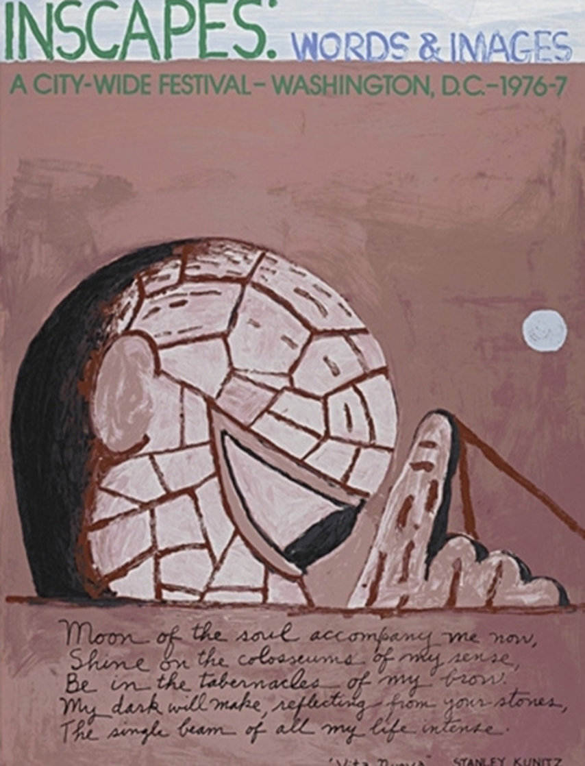 Inscapes: Words and Images 1977 HS Limited Edition Print by Philip Guston