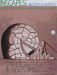 Inscapes: Words and Images 1977 HS Limited Edition Print - Philip Guston