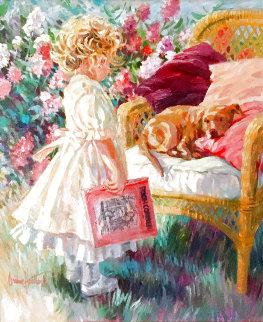 Pooh Corner? 28x24 Original Painting - Corinne Hartley