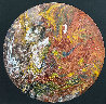 Untitled (Painted Drum Head) 2016 34 in Original Painting by Mickey Hart - 0