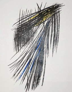 Composition L23 1957 Limited Edition Print - Hans Hartung