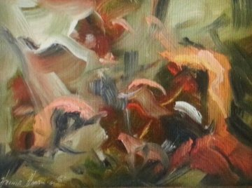 The Way It Was  10x8  Original Painting by Heinie Hartwig