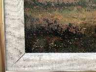 Untitled Western Painting 1982 15x30 Original Painting by Heinie Hartwig - 4