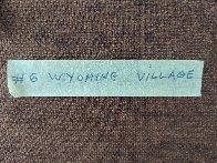 Wyoming Village 1984 26x32 Original Painting by Heinie Hartwig - 6