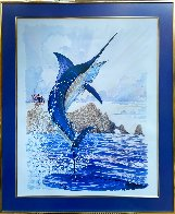 Blue Marlin of Cabo San Lucas 1996 Limited Edition Print by Guy Harvey - 1