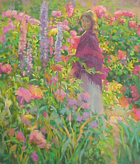 Private Garden 1998 Limited Edition Print - Don Hatfield