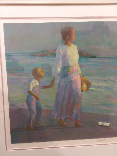 Making Footprints 1994 Limited Edition Print by Don Hatfield