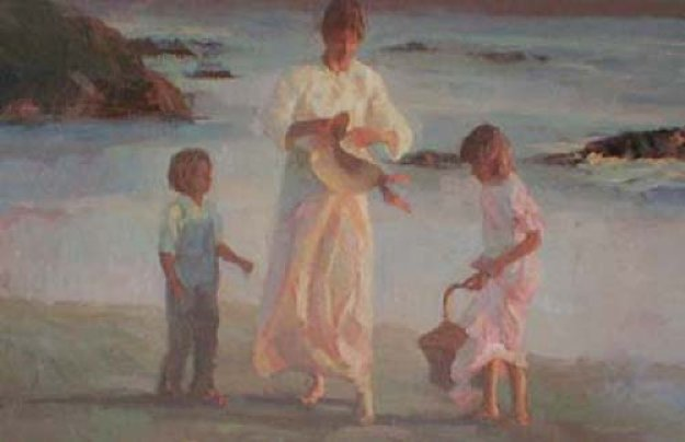 Peaceful Days 1989 Limited Edition Print by Don Hatfield