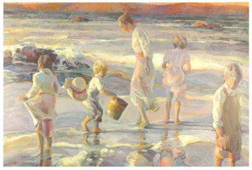 Frolicking at the Seashore Limited Edition Print - Don Hatfield