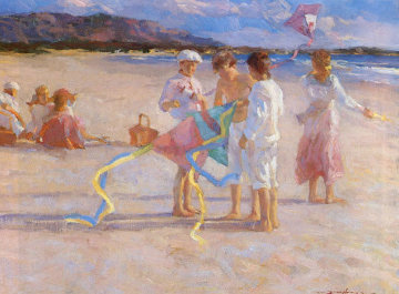 Flying Kites AP 1993 Limited Edition Print by Don Hatfield