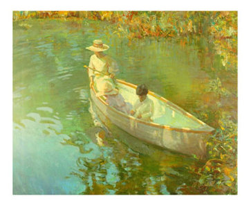 Lake Reflections 2000  Limited Edition Print by Don Hatfield