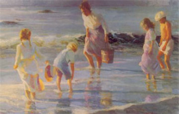 By the Sea 1989 Limited Edition Print - Don Hatfield