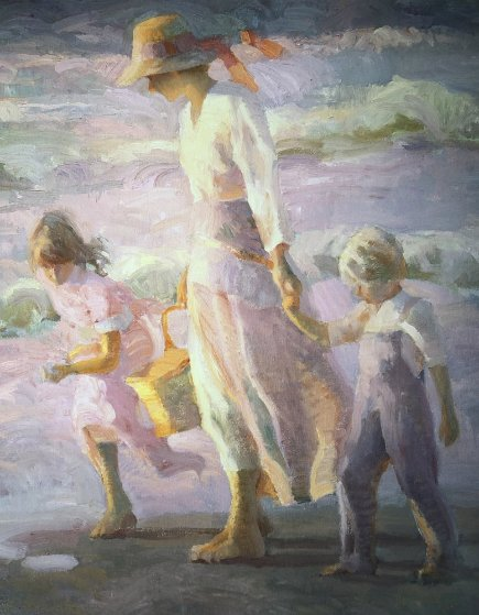 When the Kids Were Young 2000 Limited Edition Print by Don Hatfield