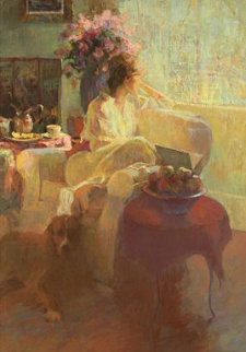 Day Dreaming 1982 Limited Edition Print by Don Hatfield