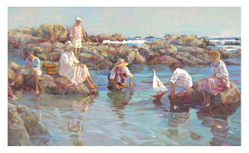 Seashore Playground 1996 Limited Edition Print by Don Hatfield