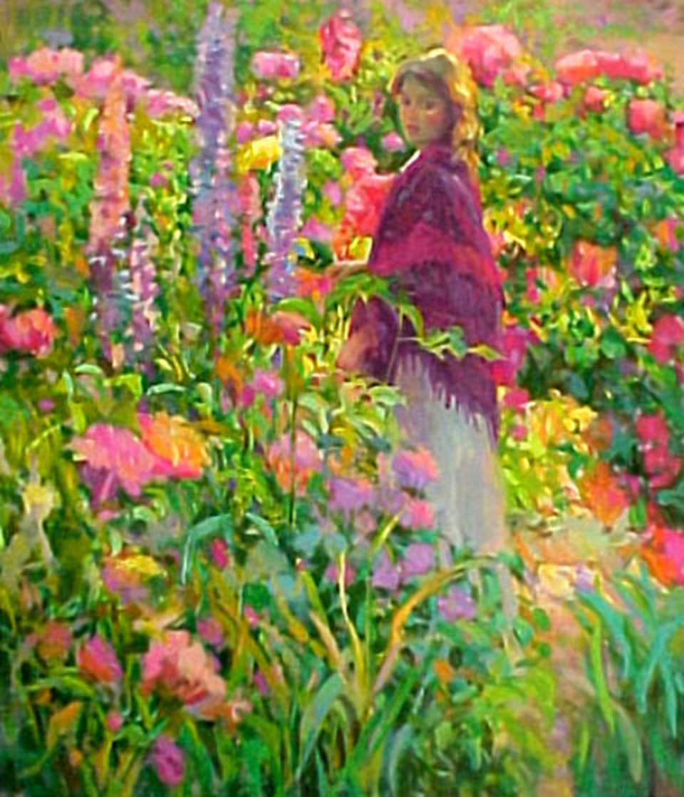 Private Garden PP Limited Edition Print by Don Hatfield
