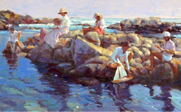 Rocky Point PP 1995 Limited Edition Print - Don Hatfield