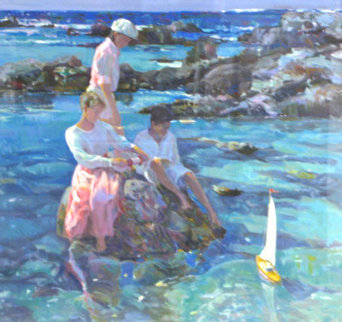Tide Pools PP Limited Edition Print by Don Hatfield