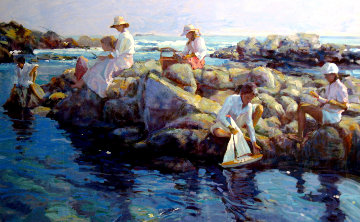 Rocky Point PP 1994 Limited Edition Print by Don Hatfield