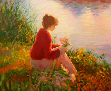 Silent Reflections PP 1998 Limited Edition Print by Don Hatfield