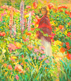 Private Garden PP Limited Edition Print - Don Hatfield