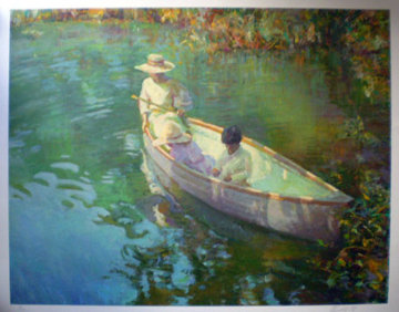 Lake Reflections 2000 Limited Edition Print - Don Hatfield