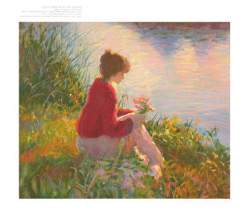 Silent Reflections 1998 Limited Edition Print by Don Hatfield