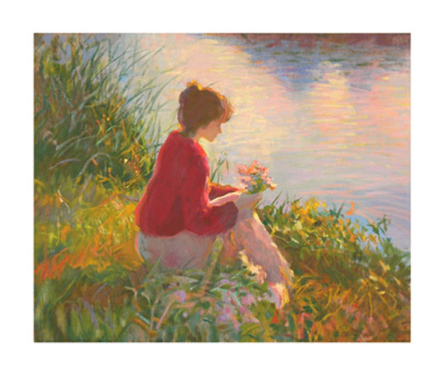 Silent Reflections AP 1998 Limited Edition Print by Don Hatfield