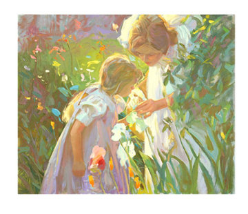 Sweet Scents AP 1993 Limited Edition Print by Don Hatfield