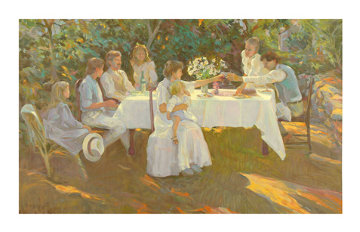 Family Reunion AP 1972 Limited Edition Print - Don Hatfield