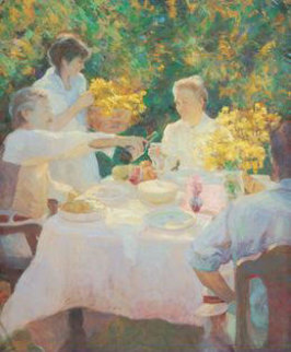 First Picnic Limited Edition Print by Don Hatfield