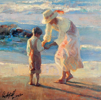 On the Beach Limited Edition Print - Don Hatfield