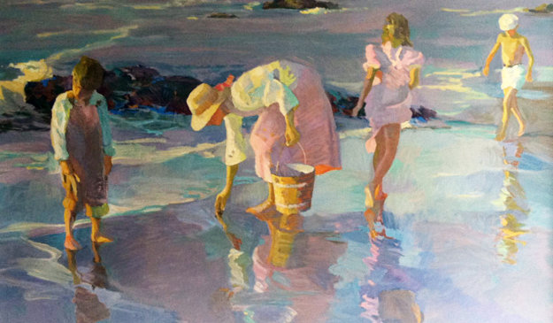 Shimmering Sand Limited Edition Print by Don Hatfield