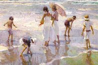 Pastels At Noon 1995 Limited Edition Print by Don Hatfield - 0