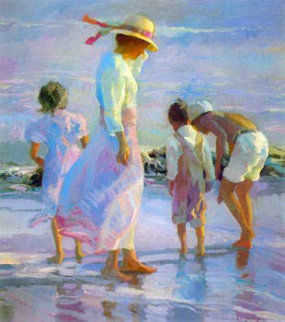 Afternoon Breezes 1990 Limited Edition Print by Don Hatfield