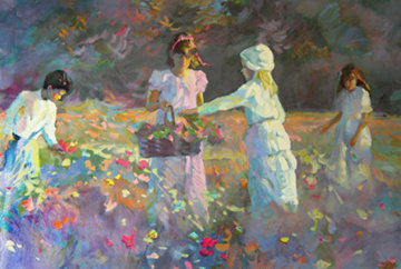 Children in the Meadow 2008 Limited Edition Print by Don Hatfield