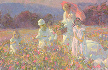 Parasols and Wildflowers 2008 Limited Edition Print by Don Hatfield