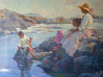 Peaceful Cove 1991 Limited Edition Print - Don Hatfield