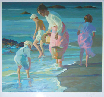 Searching For Shells Limited Edition Print by Don Hatfield