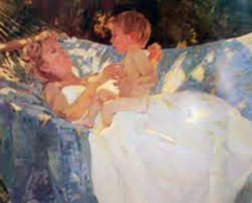 Tender Moments 1988 Limited Edition Print by Don Hatfield