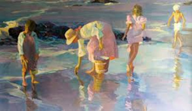Shimmering Sands 1989  Limited Edition Print by Don Hatfield