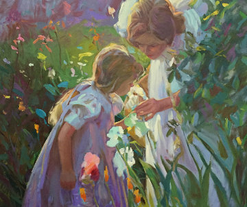 Sweet Scents 1993 Limited Edition Print - Don Hatfield