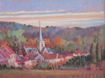 Zottengen 1999 17x19 Original Painting - Max Hayslette